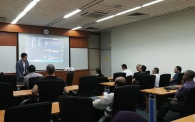 Eikon Datastream Training conducted by Mr Wong Wai Hong from Thomson Reuters