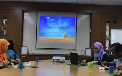 """Slot K-sharing oleh Pn. Aznurul Ain Bt Abdul Shukor dengan tajuk """"Keburukan Herba"""""""