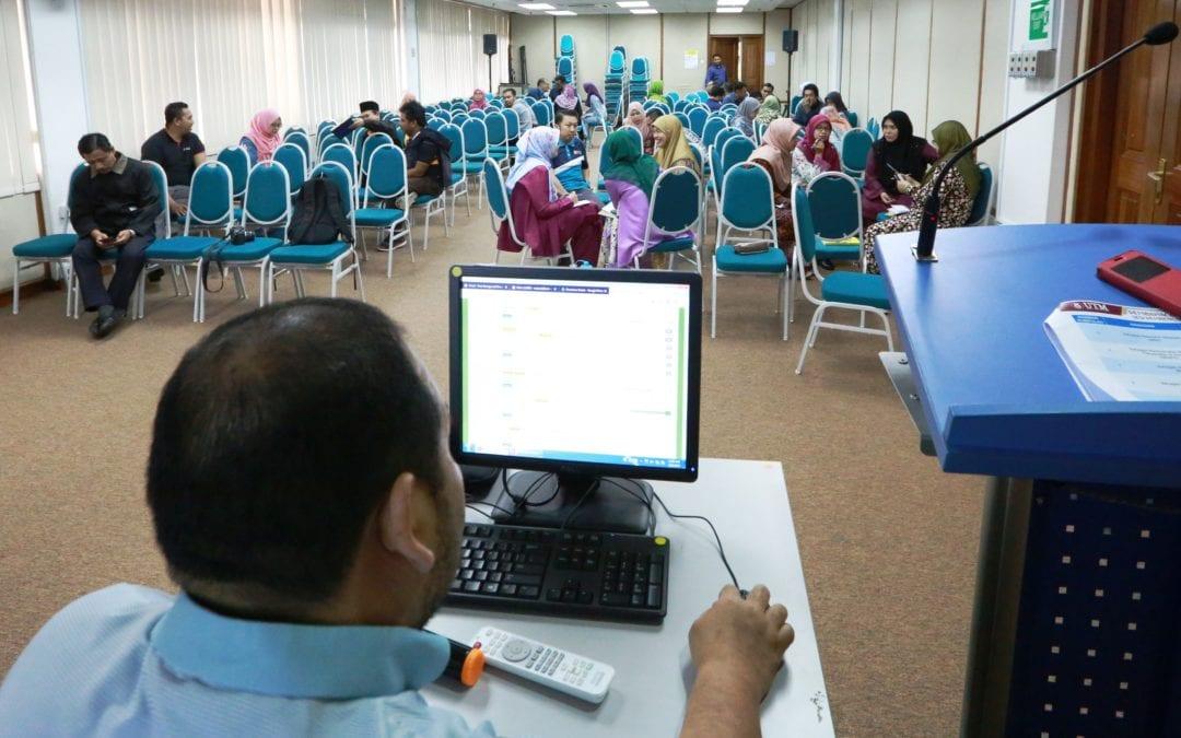 Bengkel Penulisan Kertas Kerja Bagi Staf Pelaksana Jabatan Perpustakaan UTM