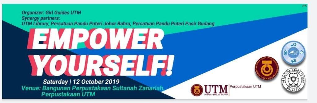 Pandu Puteri di Perpustakaan UTM Menerusi Program Empower Yourself!