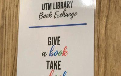 Inisiatif 'UTM Library Book Exchange' Perpustakaan UTM Pupuk Kebiasaan Membaca dan Budaya Pembelajaran