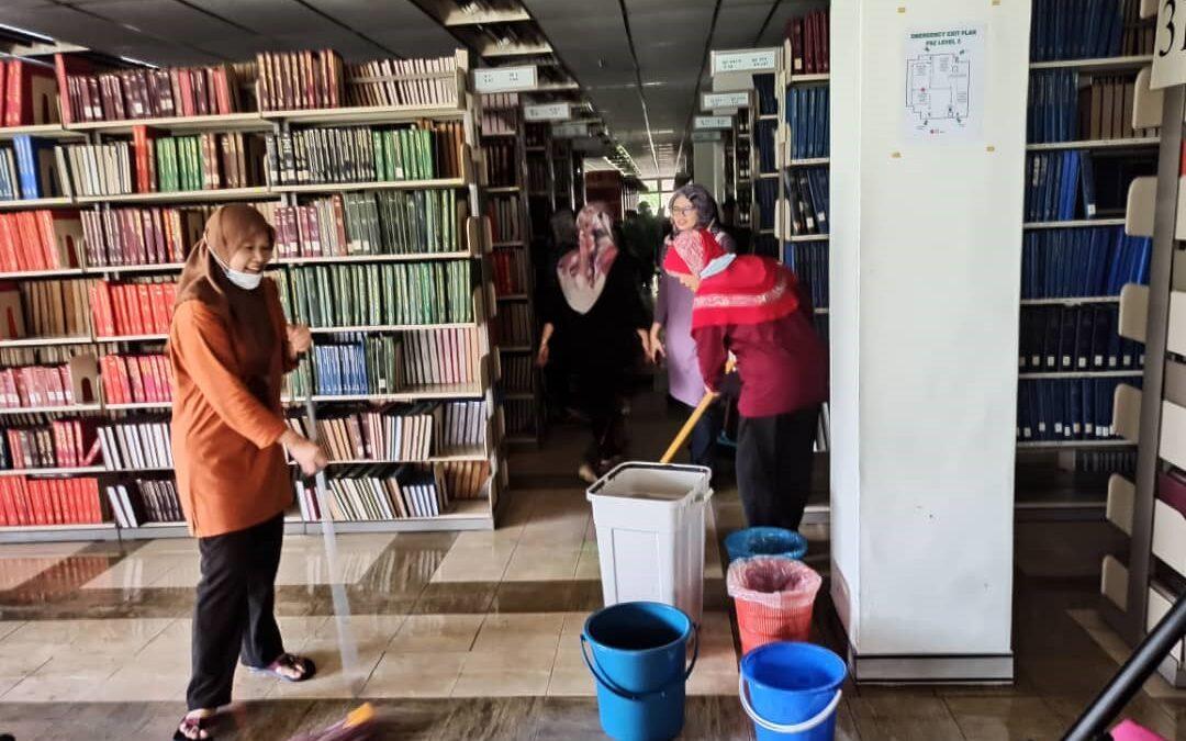 Bekalan Elektrik Terputus, Perkhidmatan Perpustakaan Terjejas