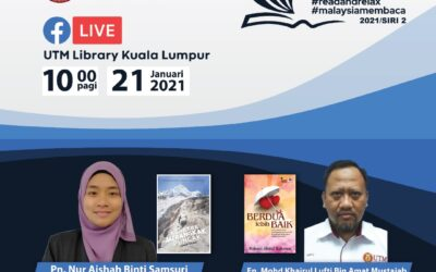 Program Book Sharing, Siri 2/2021, Perpustakaan UTM Kuala Lumpur