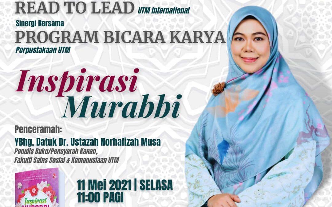 Bicara Karya 'Inspirasi Murabbi'
