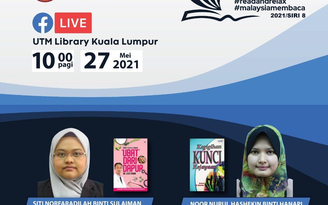 Program Book Sharing, Siri 8/2021, Perpustakaan UTM Kuala Lumpur