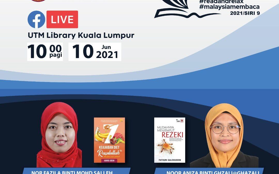Program Book Sharing Siri 9/2021, Perpustakaan UTM Kuala Lumpur