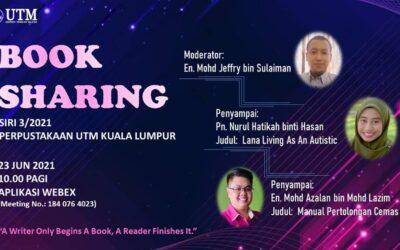 Perkongsian Buku Staf Perpustakaan UTM Kuala Lumpur Siri 3/2021