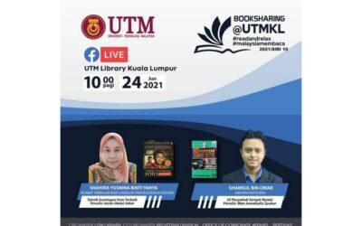 Program Book Sharing Siri 10/2021, Perpustakaan UTM Kuala Lumpur