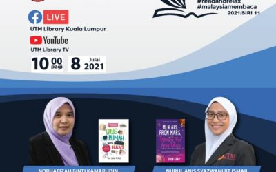 Program Book Sharing Siri 11/2021, Perpustakaan UTM Kuala Lumpur