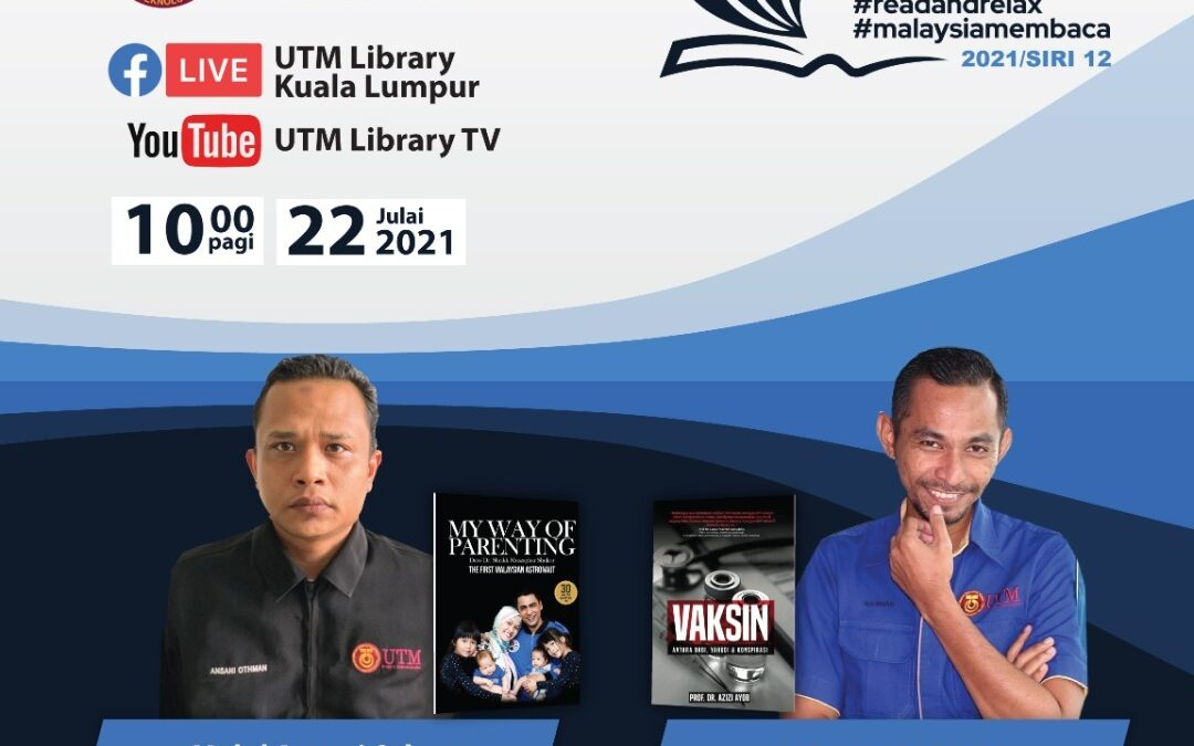 Program Book Sharing Siri 12/2021, Perpustakaan UTM Kuala Lumpur