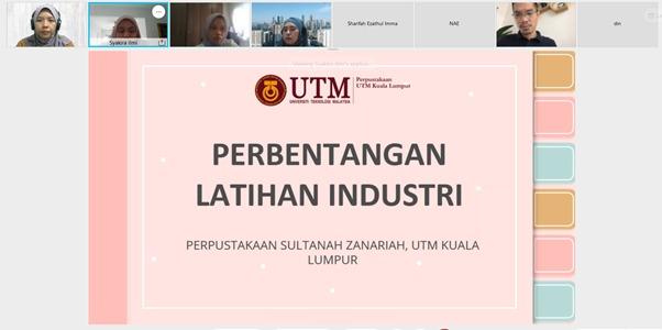 Pembentangan Latihan Industri, Perpustakaan UTM Kuala Lumpur