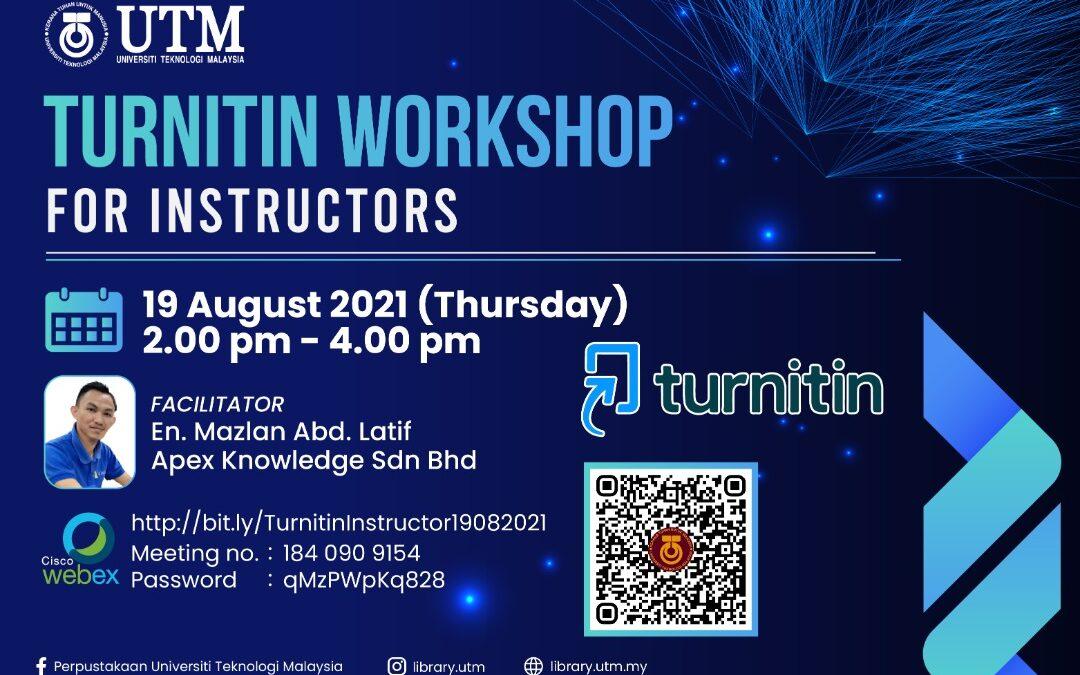 Turnitin Webinar for Instructors