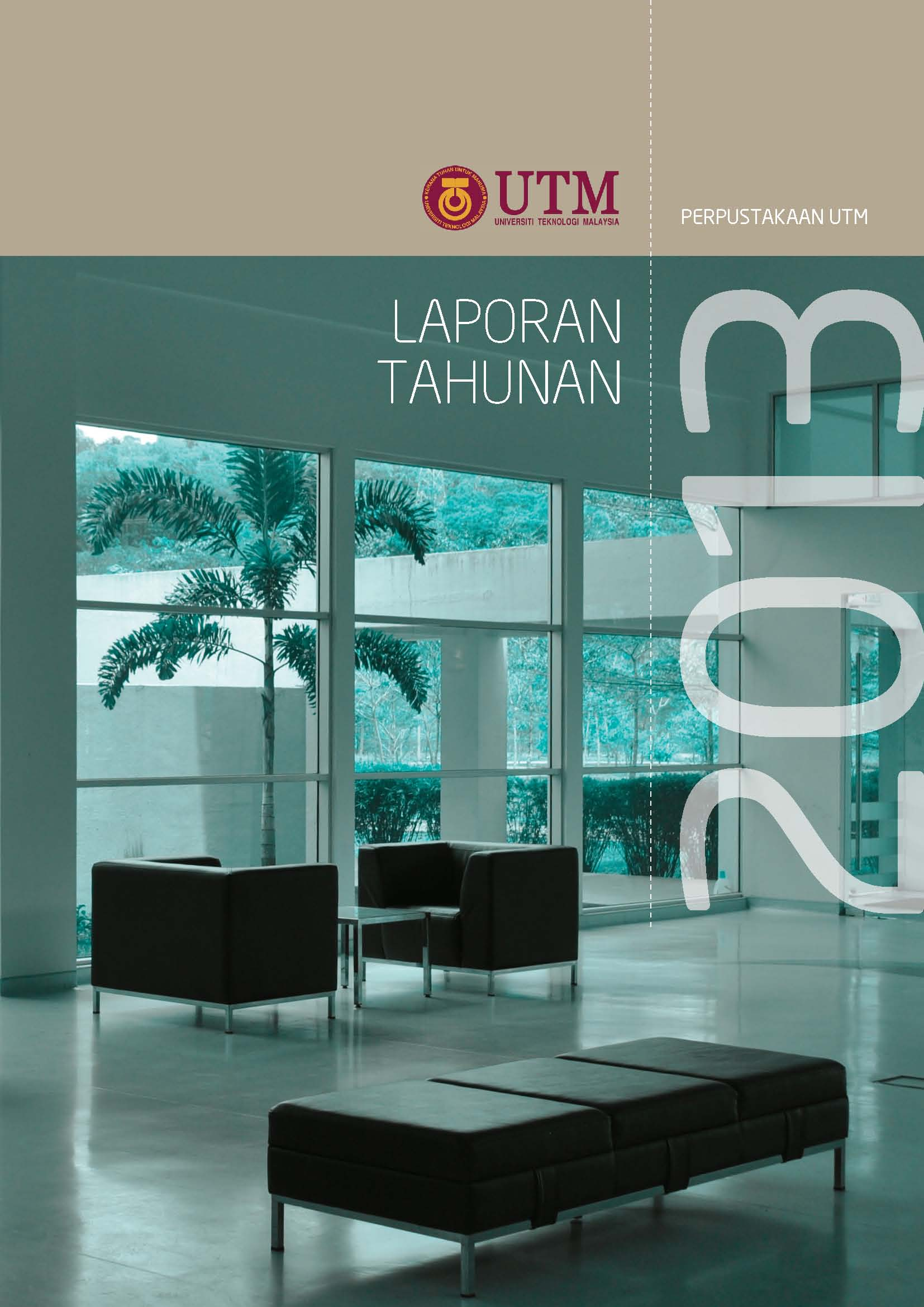 cover page UTM Library Annual Report 2013