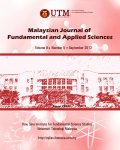 Malaysian Journal of Fundamental and Applied Sciences